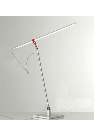 Escale Slimline table lamp with red clip
