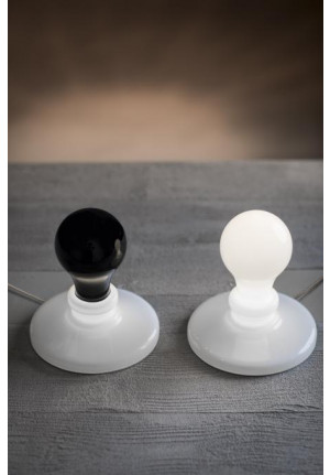 Foscarini Light Bulb black and white