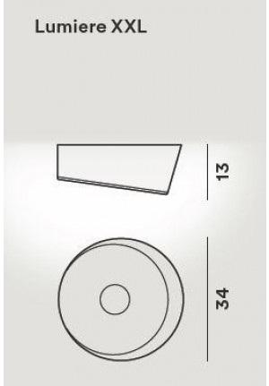 Foscarini Lumiere XXL Soffitto LED spare part