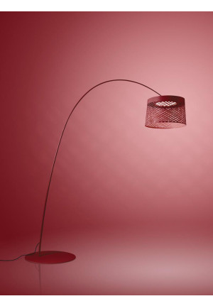 Foscarini Twiggy Grid Outdoor Terra red