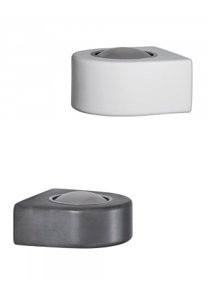 Less'n'more Mimix Concrete Wall Spotlight one-lamp grey and white