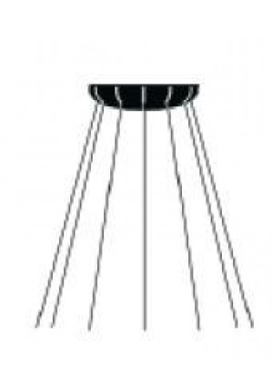 Luceplan Mesh Suspension 80 cm D86NPI spare canopy