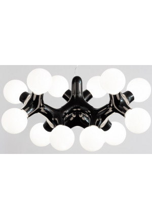 Next DNA chandelier XL black