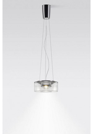 Serien Lighting Curling Suspension Rope Acryl clear M