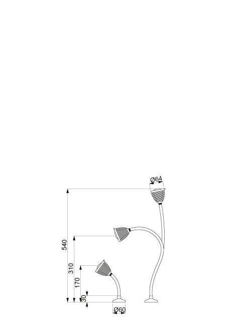 Less'n'more Athene Recessed Light A-AL1 and A-AL2 spare part