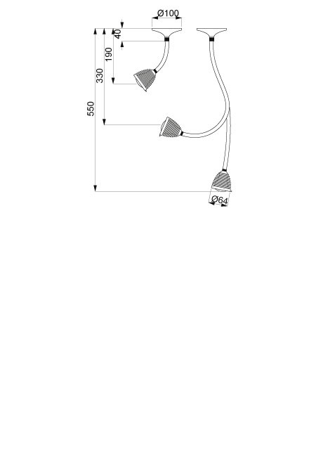 Less'n'more Athene Wall / Ceiling A-MDL1 and A-MDL2 spare part
