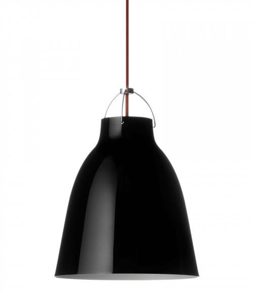 Lightyears Caravaggio P2 black glossy with red cable