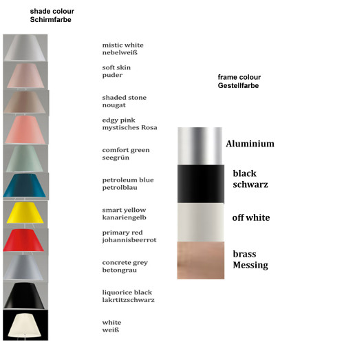 Luceplan Costanzina Table colours