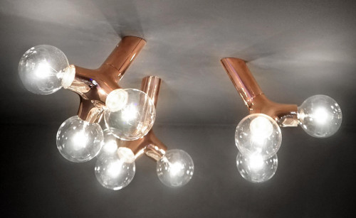Next DNA wall-ceiling single copper