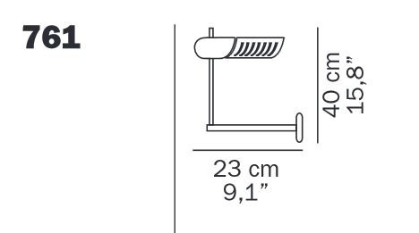 Oluce Colombo 885 spare part