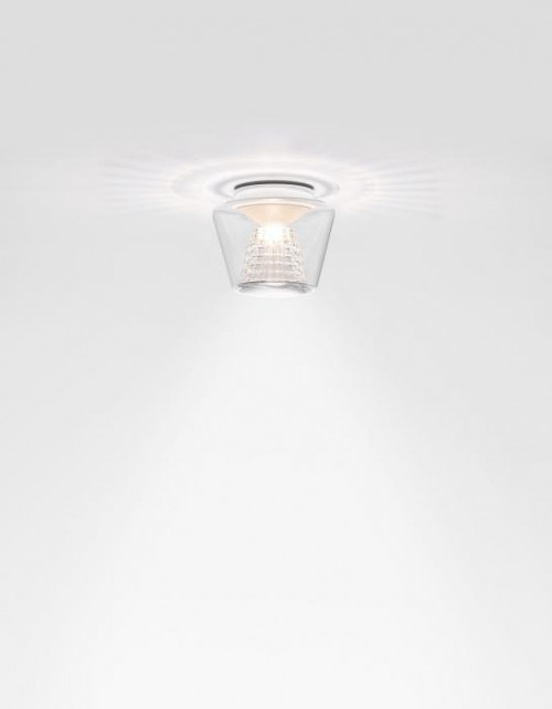 Serien Lighting Annex Ceiling Halogen clear/ crystal glass Small