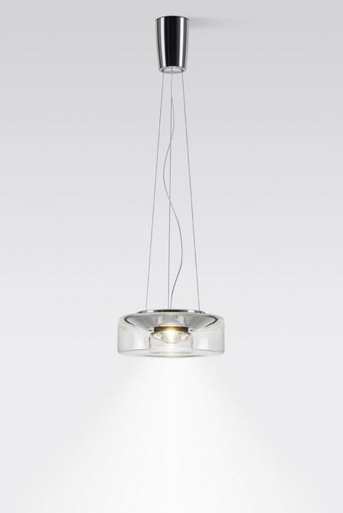 Serien Lighting Curling Suspension Rope LED clear