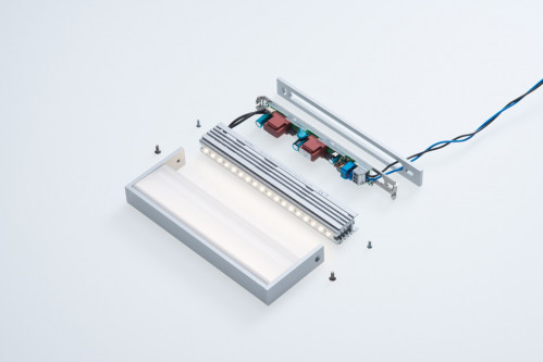 cover plate for SML LED Large white