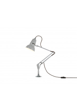 Anglepoise Original 1227 Mini Lamp with Desk Insert grey