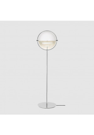 GUBI Multi-Lite Floor Lamp Chrome, shade chrome