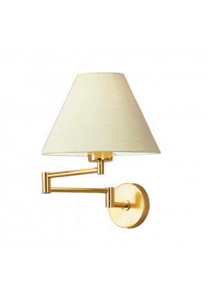 Knapstein HEDI-3 brass, shade white