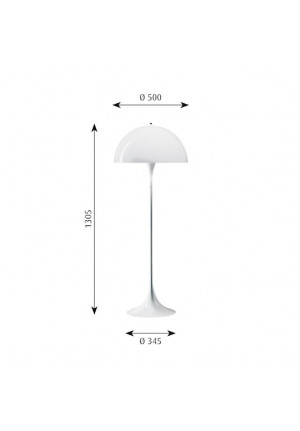 Louis Poulsen Panthella floor lamp spare part