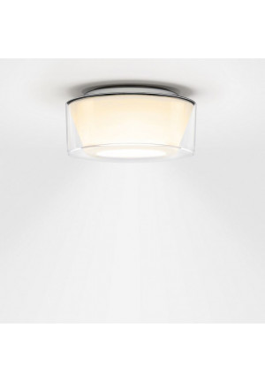 Serien Lighting Curling Ceiling Acryl clear / conical opal S