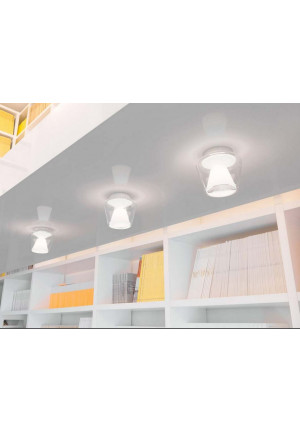 Serien Lighting Annex Ceiling LED clear/ opal