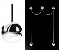 Convivio pendant lamp 2-lights LED