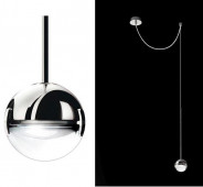 Convivio pendant lamp decentralized LED