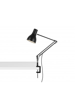Anglepoise Type 75 Lamp with Desk Clamp black