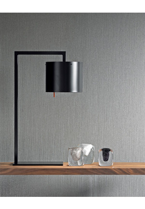 Anta Afra Table Lamp black inside silver