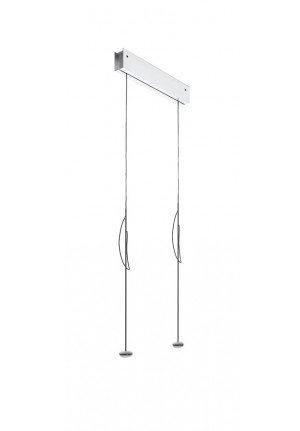 Anta Ny 2 lamps aluminum with height-adjustability