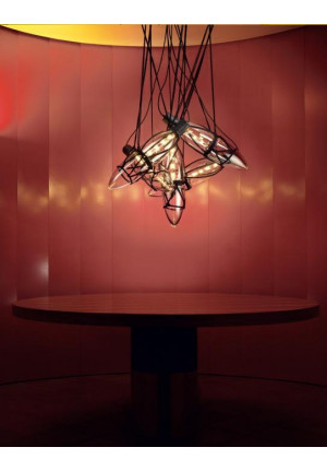 Bomma Shibari chandelier with 5 lamps
