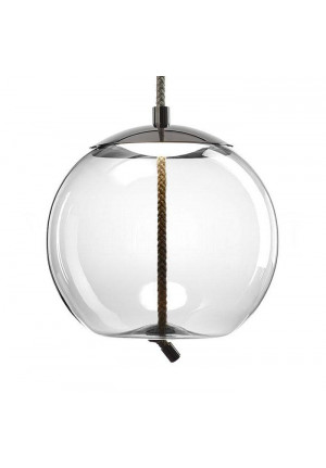 Brokis Knot Small Sfera transparent, reflector chrome