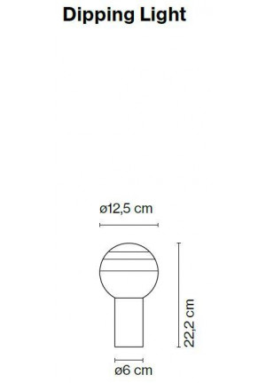 Marset Dipping Light spare part
