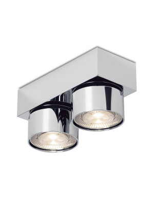 Mawa Wittenberg 4.0 ceiling lamp 2-lights LED chrome