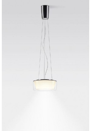 Serien Lighting Curling Suspension Rope Acryl clear / conical opal S