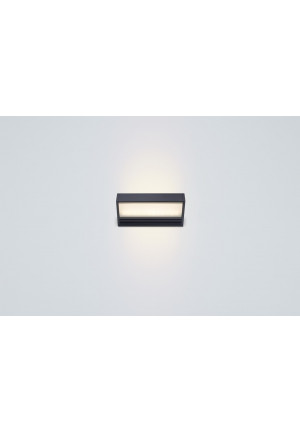 Serien Lighting SML2 Wall 150 Black satinee / satinee