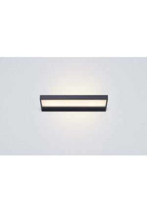 Serien Lighting SML2 Wall 300 Black satinee / satinee