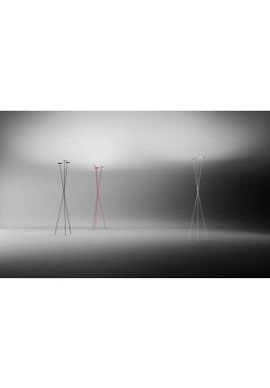 Vibia Skan 0260 black, red and white