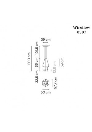 Vibia Wireflow 0307 graphic