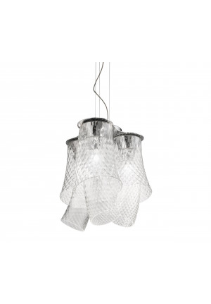 Vistosi Assiba SP 6 LED Version 2, crystal-crystal