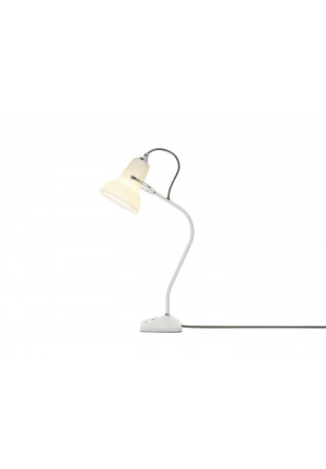 Anglepoise Original 1227 Mini Ceramic Table Lamp switched on