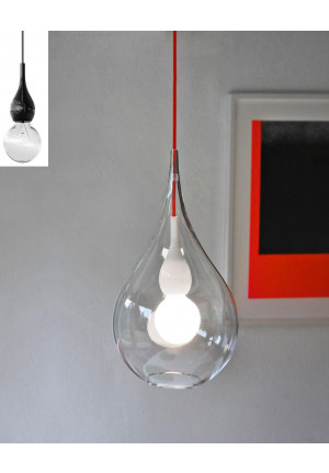 Next Blubb 2 Pendant clear black (black socket see small picture)