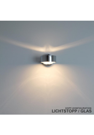 Top Light Puk light stop top, glass bottom