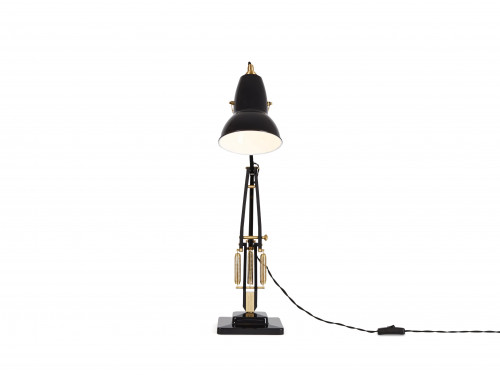 Anglepoise Original 1227 Brass Desk Lamp black