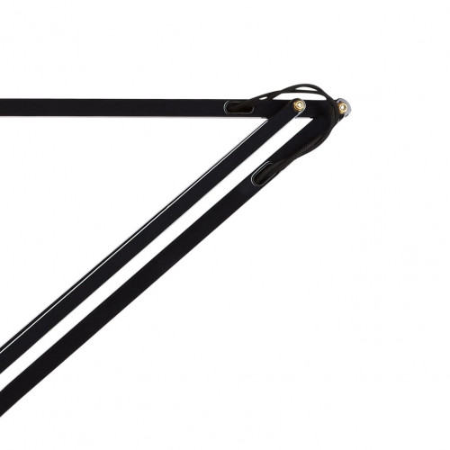 Anglepoise Original 1227 Brass Desk Lamp arms black