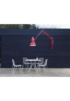 Anglepoise Original 1227 Giant Outdoor Lamp with Wall Bracket glossy black