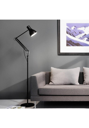 Anglepoise Type 75 Floor Lamp black