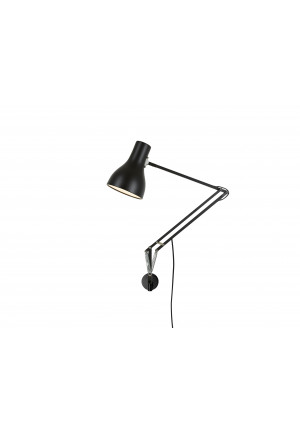 Anglepoise Type 75 Lamp with Wall Bracket black