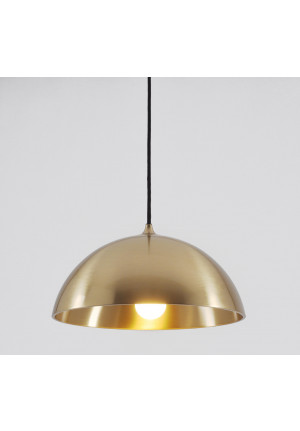 Florian Schulz Duos 36 Pendant brass polished lacquered