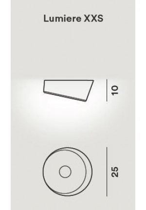 Foscarini Lumiere XXS Soffitto Parete LED spare part