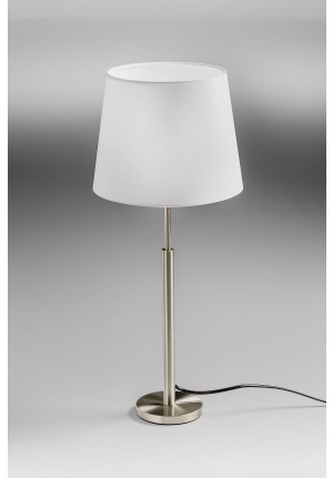 Lupia Licht Garde T lamp rod brass antique lampshade champagne